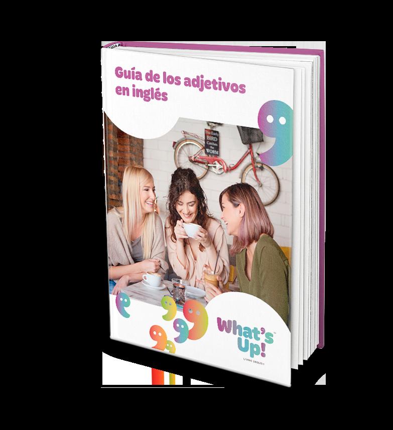 WHA - Guía de los adjetivos en inglés - Portada