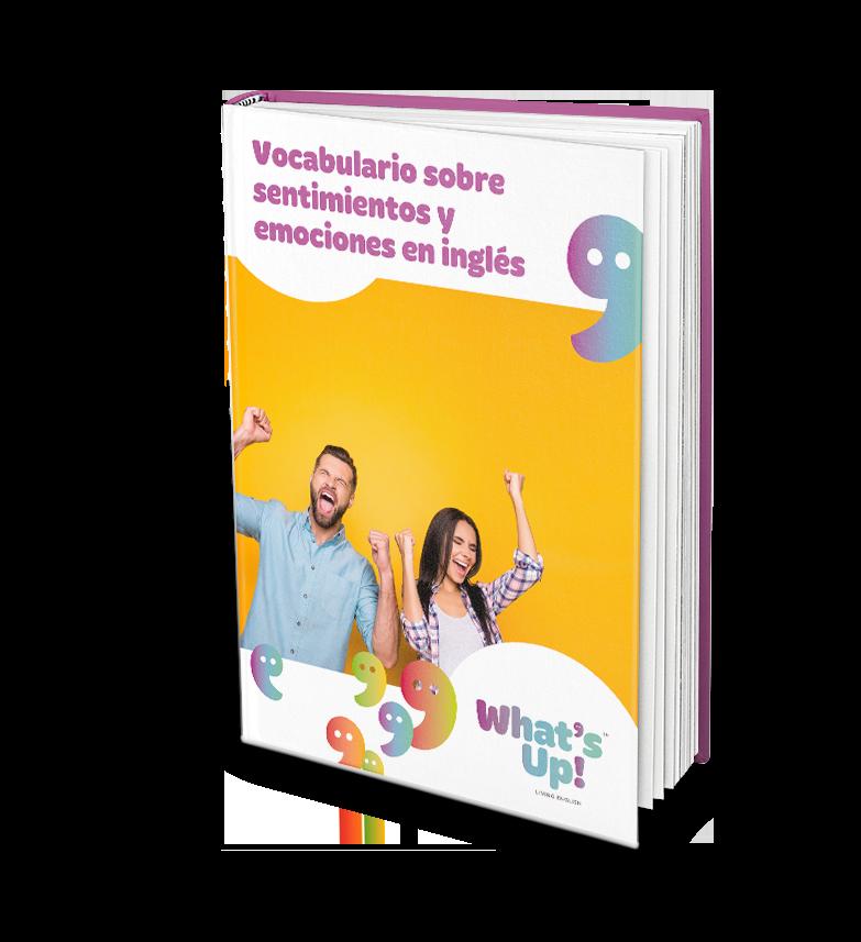 WHA - Vocabulario sobre sentimientos y emociones en inglés - Portada